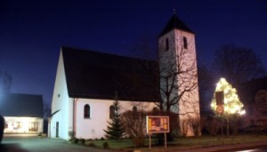 Erbaut 1954: Die Auferstehungskirche in Töging