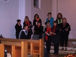 FrauenVokalEnsemble beim Weltgebetstag in Töging