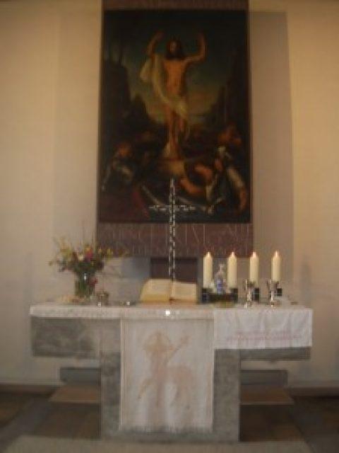 Frohe Ostern wünscht Ihre Kirchengemeinde!