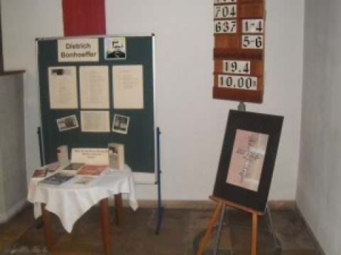 70. Todestag Dietrich Bonhoeffer – Ausstellung mit Bildern und Dokumenten