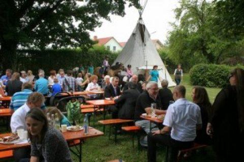 Gemeindefest rund um die Auferstehungskirche