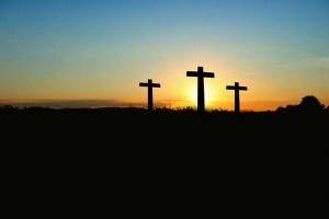 Karfreitag Ostern drei Kreuze