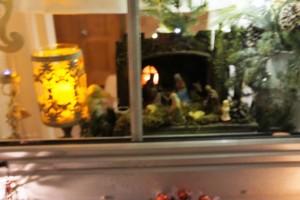 Adventsfenster bei Familie Eberherr