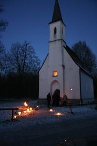 Vorweihnachtlicher Gottesdienst in der Kapelle Hampersberg