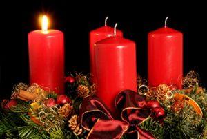Die evangelische Gemeinde wünscht allen einen wunderschönen 1. Advent