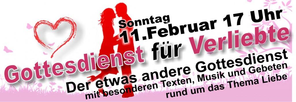 Valentinsgottesdienst am 11. Februar