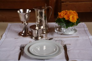 Tischabendmahl an Gründonnerstag