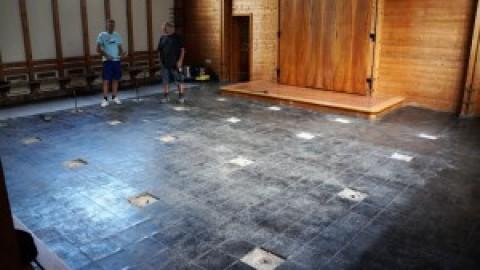 Renovierungsarbeiten in der Friedenskirche – Gottesdienst entfällt!