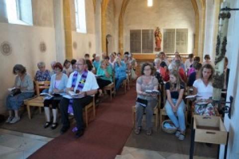 Ökumenischer Sommergottesdienst zur Hochzeit von Kana mit Weinverkostung