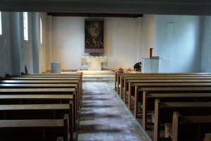 RENOVIERUNG der Auferstehungskirche hat begonnen