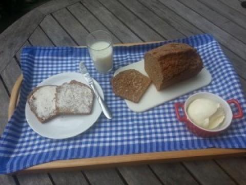 Frühstück in der Friedenskirche
