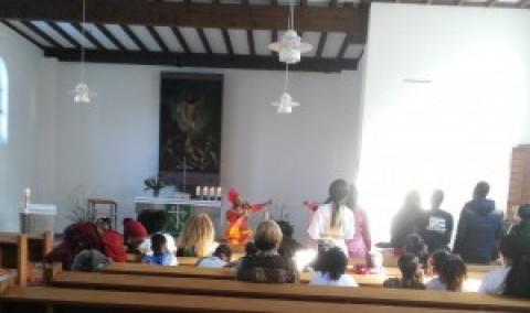 Internationaler Gottesdienst einer afrikanischen Kirche in der Auferstehungskirche