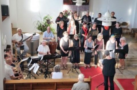 Gospel meets Jazz – Tolles Konzert in der Auferstehungskirche