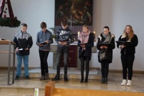 Eröffnung des Advents in der Auferstehungskirche