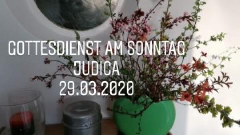 Online-Gottesdienst an Judica am 29. März aus der Auferstehungskirche
