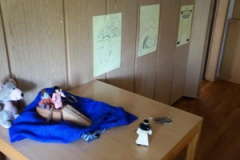 Gemeindesaal wird zum virtuellen Kindergottesdienstraum
