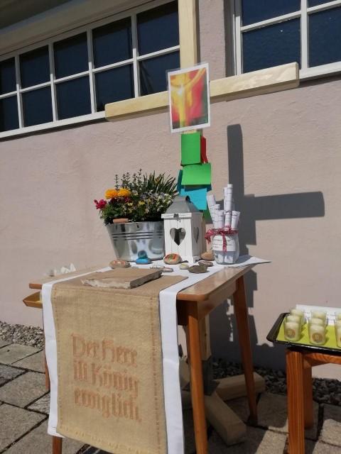 Ostersonntag bei der Friedenskirche