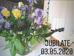 Gottesdienst am Sonntag Jubilate aus der Auferstehungskirche Töging, 03.05.2020