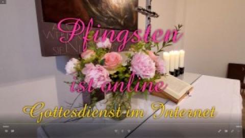 Pfingstgottesdienst im Internet