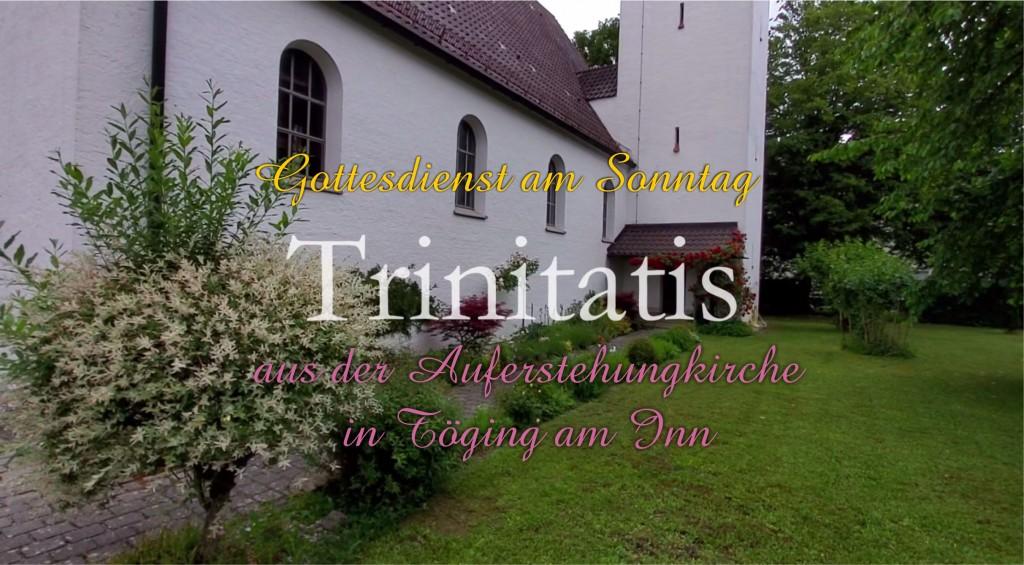 Onlinegottesdienst an Trinitatis