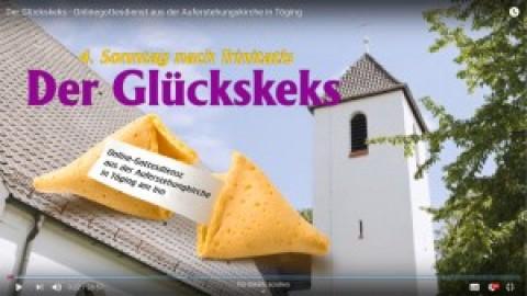 """""""Der Glückskeks"""" – Onlinegottesdienst am 5. Juli 2020"""