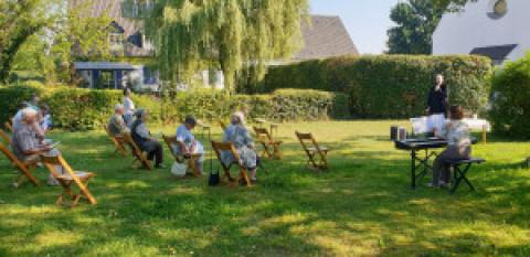 Sommergottesdienst im Freien