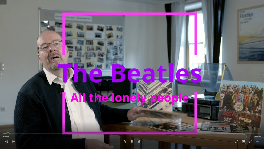 All the lonely people - Onlineandacht im Oktober (Teil 3)