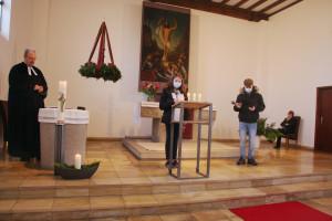 Familiengottesdienst zum 1. Advent mit Konfirmanden