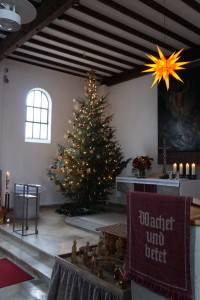 Weihnachten auch digital aus der Töginger Auferstehungskirche