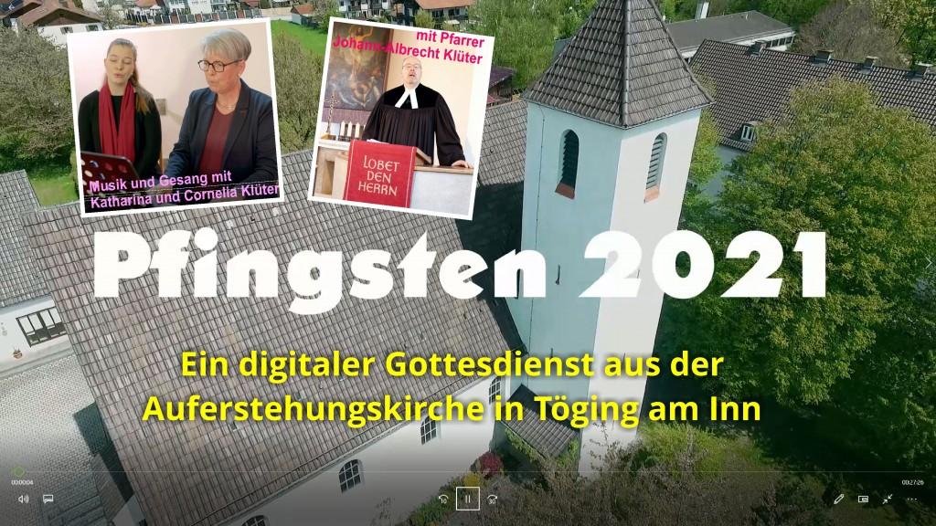 Pfingstgottesdienst digital