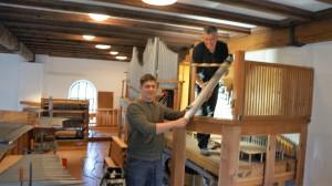 Die Töginger Orgel wird generalüberholt