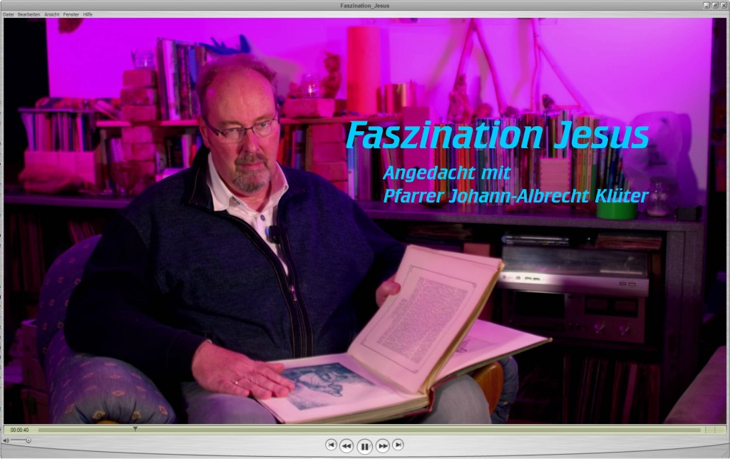 Angedacht: Faszination Jesus